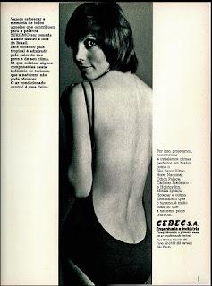 Cebec - Engenharia e Indústria,  anos 70.  1974. década de 70. os anos 70; propaganda na década de 70; Brazil in the 70s, história anos 70; Oswaldo Hernandez;