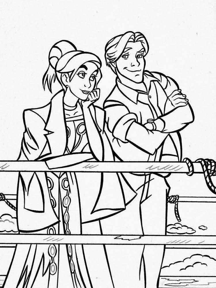 Desenhos para Colorir e Imprimir: Desenhos da Anastasia para Colorir ...