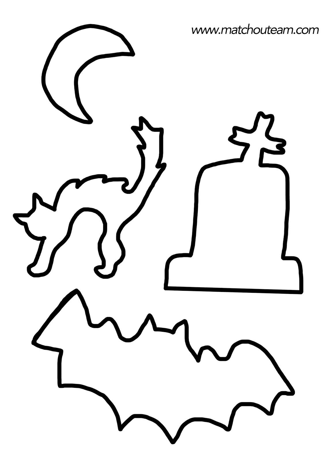 Ma tchou team pochoirs imprimer pour halloween - Pochoir deco gratuit a imprimer ...