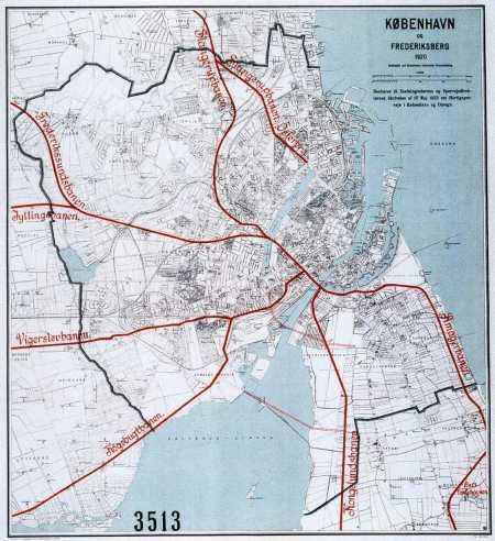 Kort over nørrebro københavn