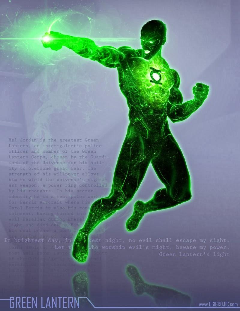 Green Lantern / Linterna Verde by Ogi Grujic