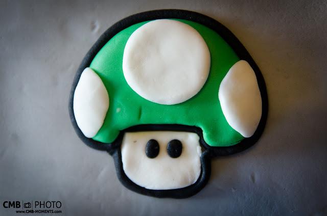 Tarta de WiiU Gamepad. WiiU Gamepad cake. 1up