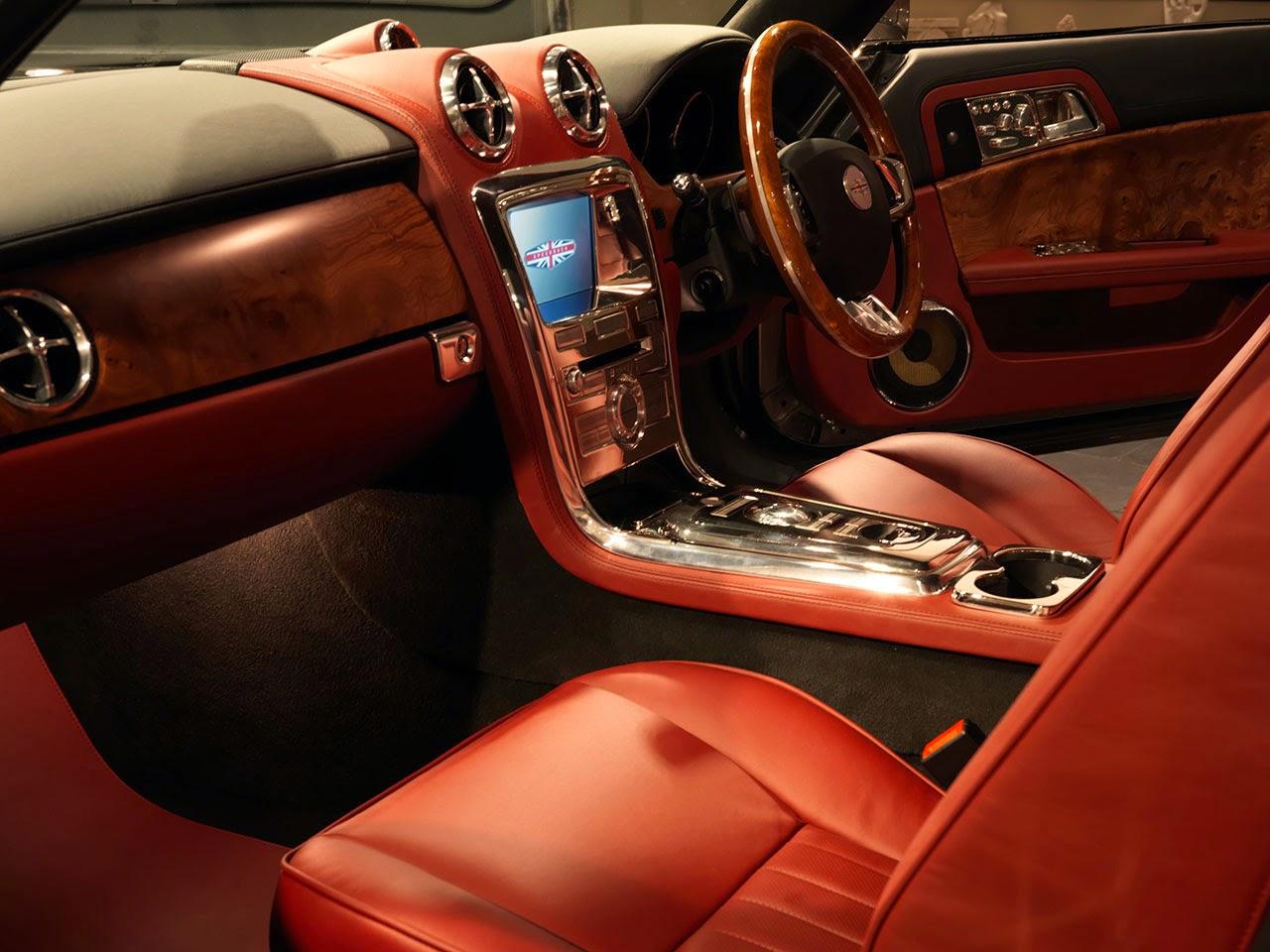 David Brown Automotive Speedback dash