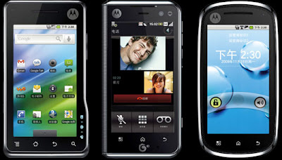 Motorola XT701 mobile phone with HDMI