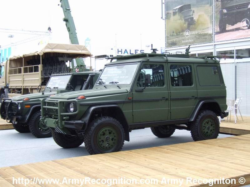 Fuerzas Armadas de Argelia Mercedesg6