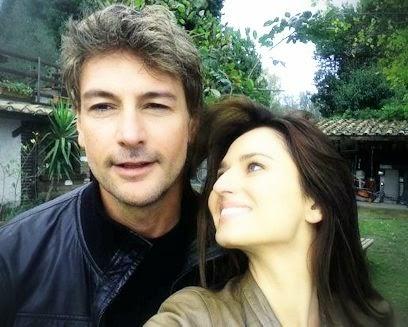 Anna Safroncik e Roberto Farnesi