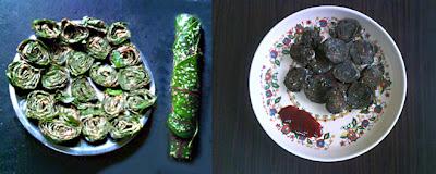 Colocasia Leaf Fried Pathrode