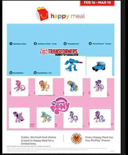 New MLP Happy Meal Figures Coming February 2016
