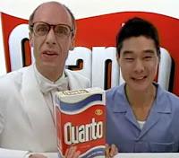 Propaganda do Sabão Quanto, lançado pela Bombril em 1992.