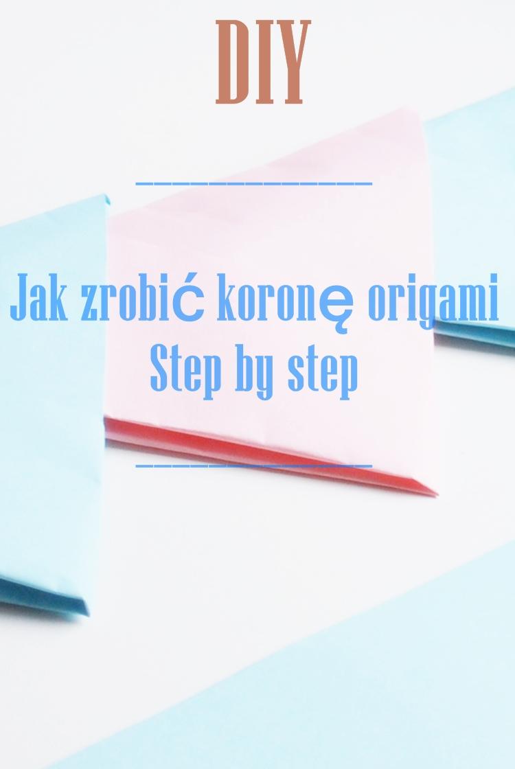 diy origami korona