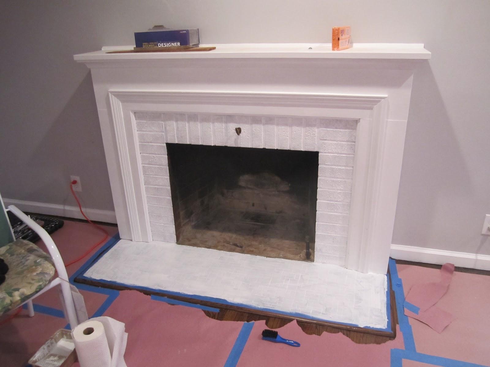 Retro ranch reno freshened up fireplace freshened up fireplace dailygadgetfo Images