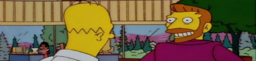 Imagen de Homer y Hank Scorpio