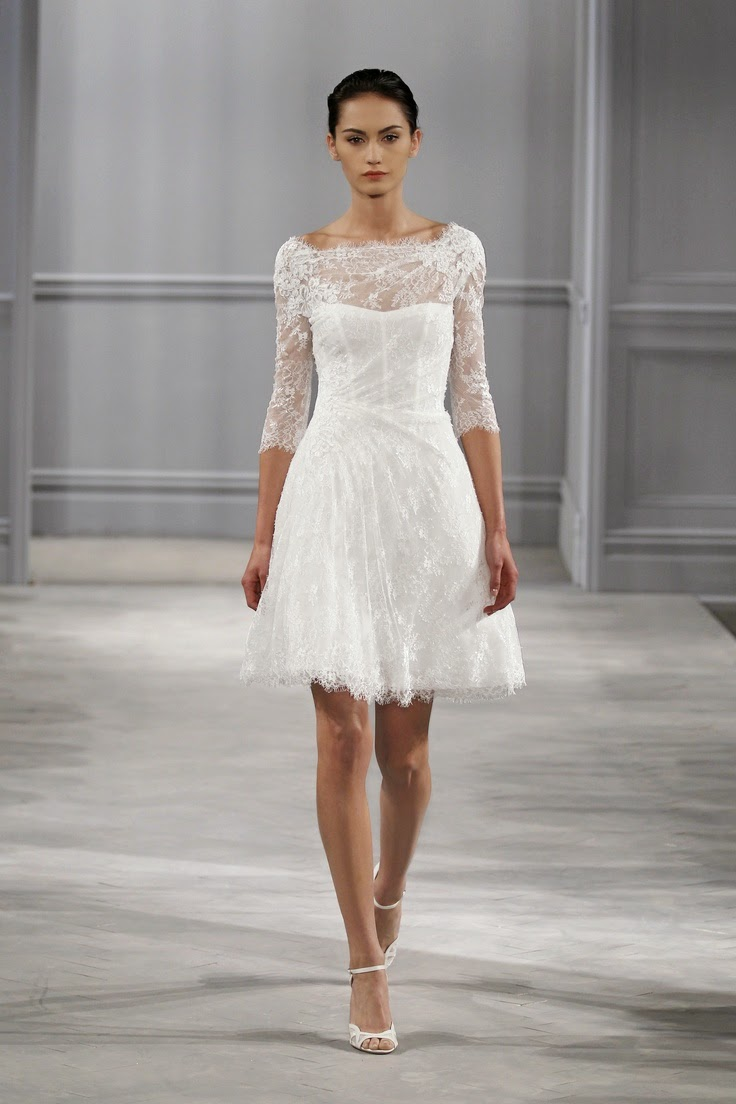 Modelos de vestidos sencillos para boda civil