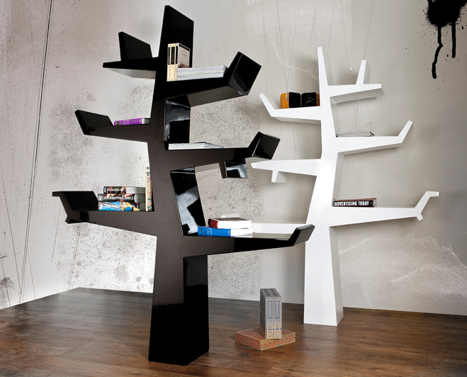 Nursery Notations High Vs Low Tree Bookcase