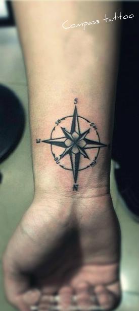 free tattoo designs compass tattoo designs. Black Bedroom Furniture Sets. Home Design Ideas