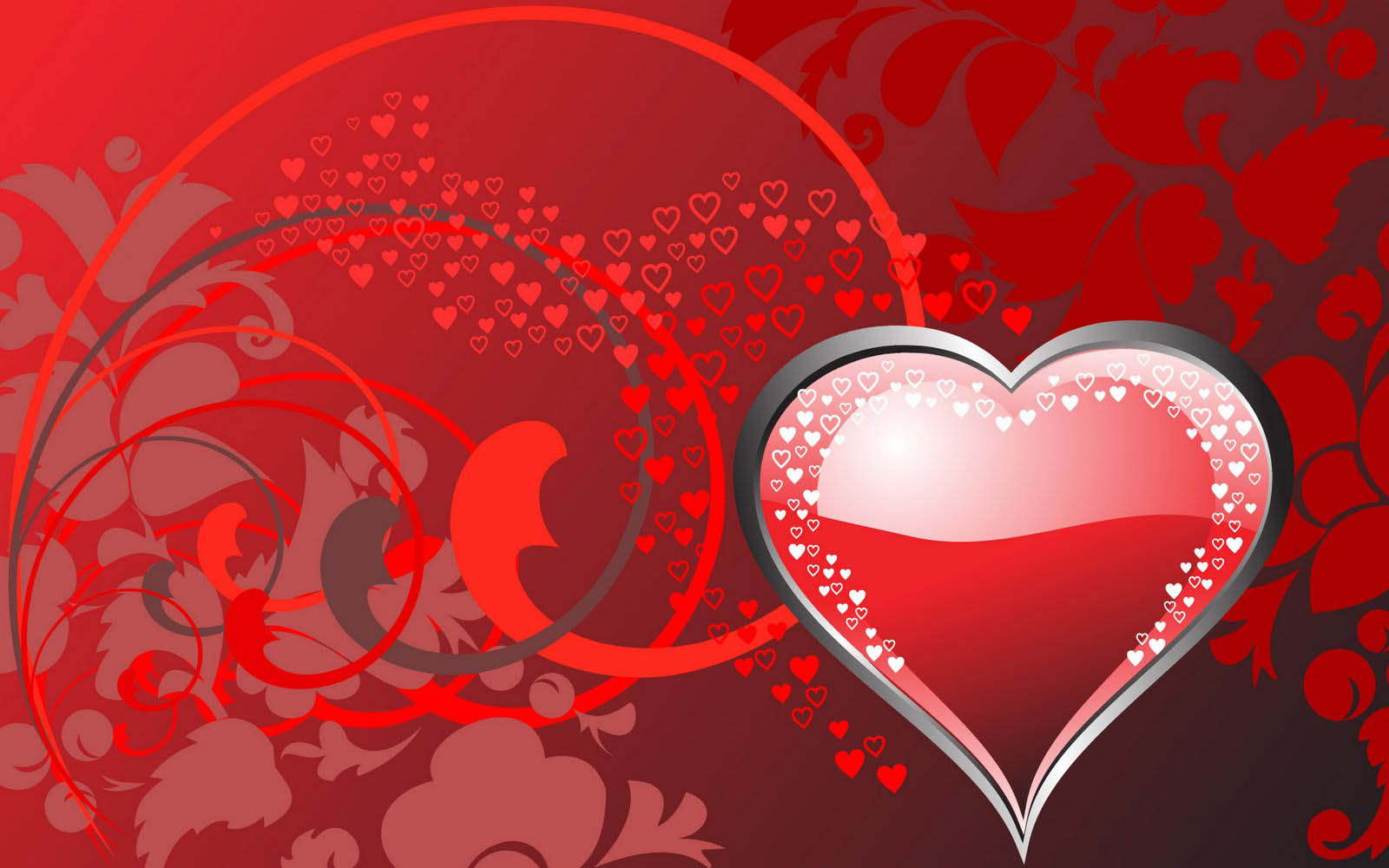 Love Heart Wallpaper Background : wallpapers: Love Hearts Wallpapers