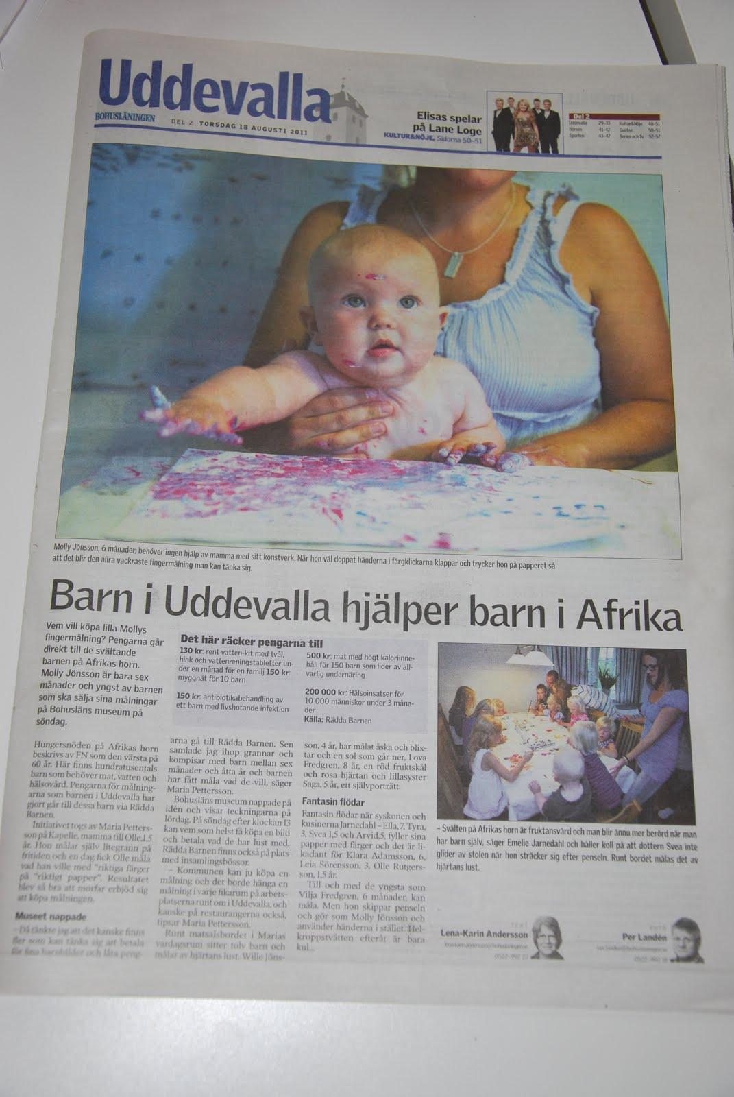 hjälpa barn i afrika