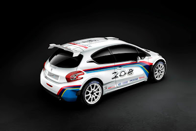 Peugeot 208 Type r5 rear quarter
