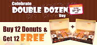 Mad Over Donuts : Buy 12 Donuts & Get 12 Free (Valid for Today Only)