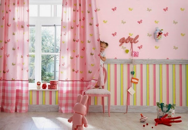 Papel de parede para quarto de bebe papel de parede para - Papel decorativo infantil para paredes ...
