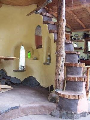 Красивый дом из самана