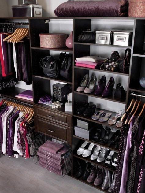 Closets y armarios para la habitacion principal buenas for Closet para zapatos modernos