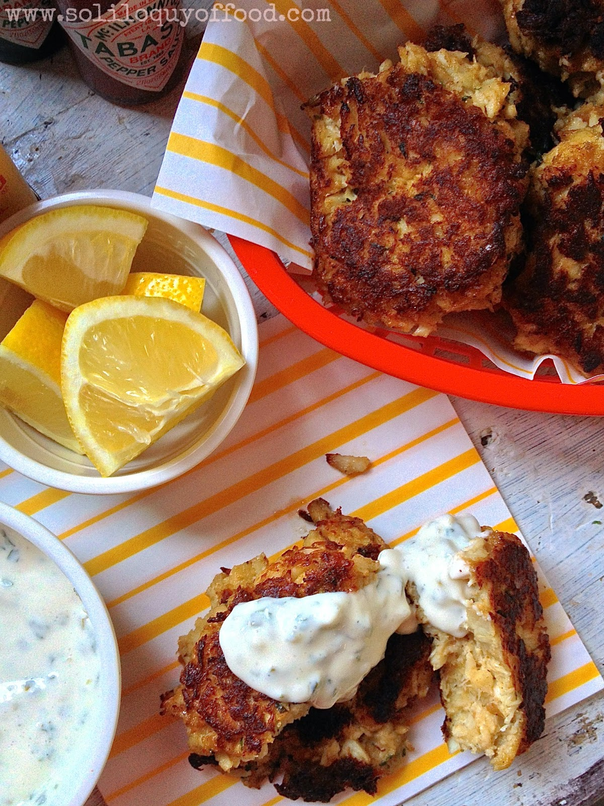 Your only regret when making these Maryland Crab Cakes...that you didn't make MORE - www.soliloquyoffood.com