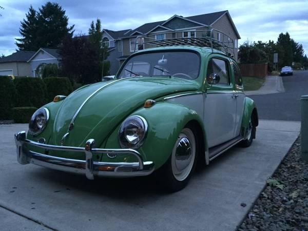 1961 Volkswagen Beetle Ragtop For Sale