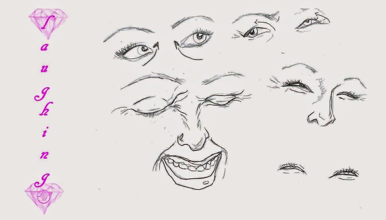 People Laughing Drawing
