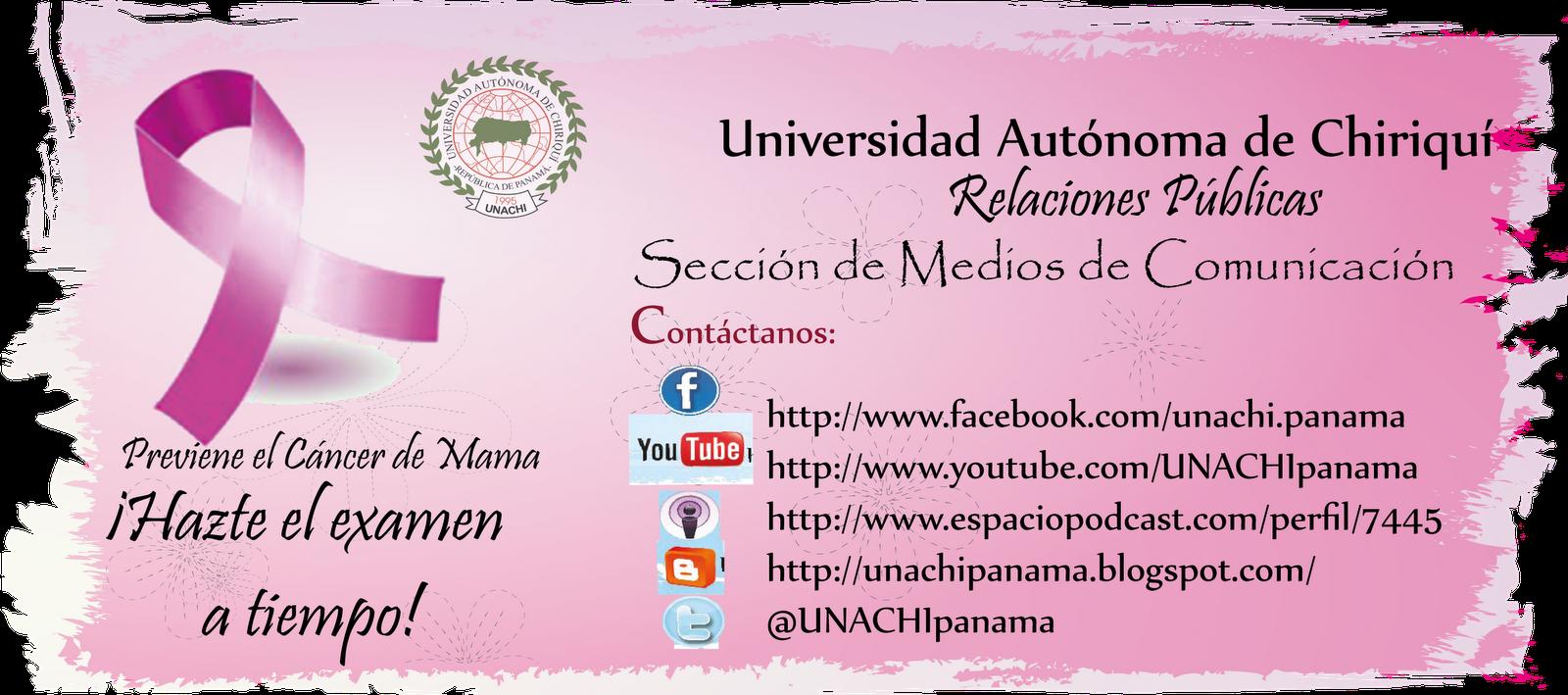 Universidad Autónoma de Chiriquí: Inicia el mes de la Prevención del ...