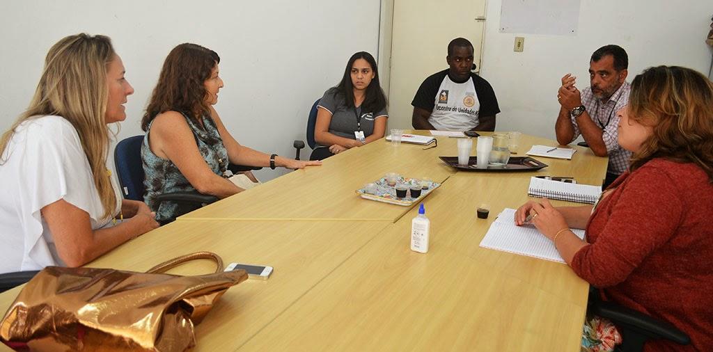 Secretário de Segurança Pública, Marcos Antonio da Luz, se reúne com representantes do Creas (Centro de Referência Especializado de Assistência Social) e da Saúde Mental
