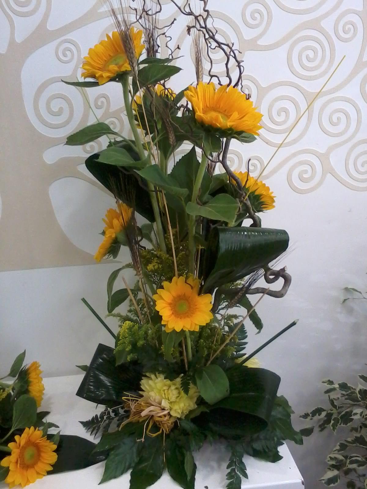 Idee Matrimonio Girasoli : Idee di claudia addobbo con girasoli