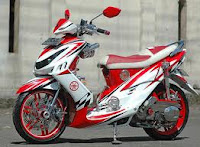 Yamaha Mio J Modifikasi