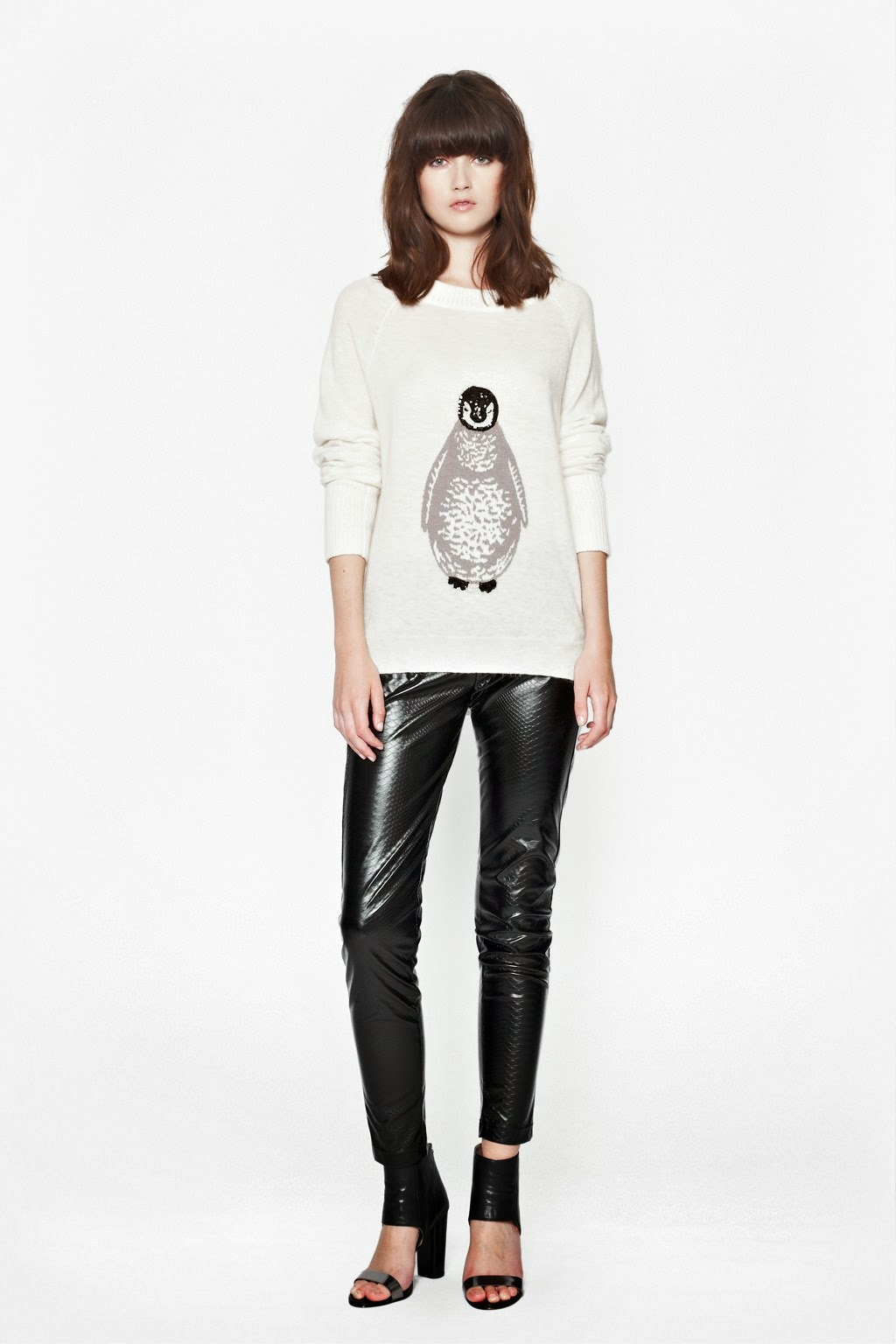french connection penguin jumper
