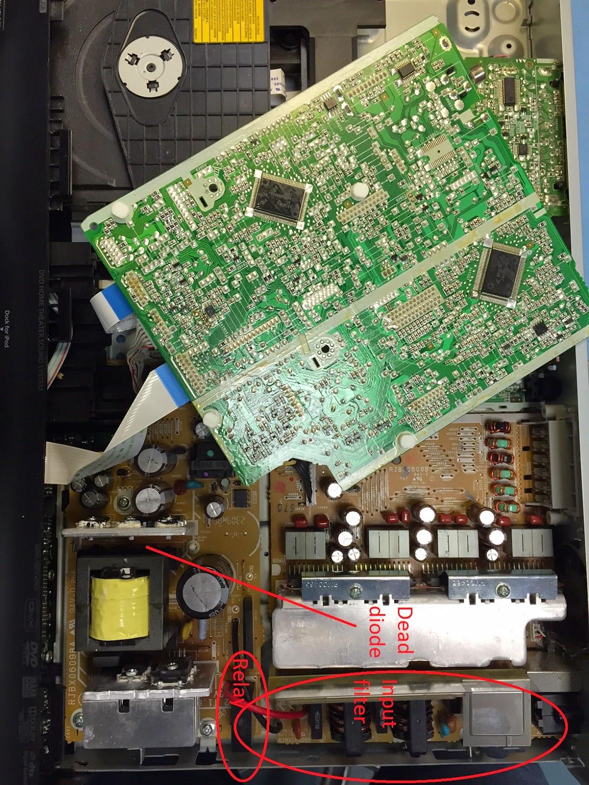 panasonic sc btt370 service manual and repair guide