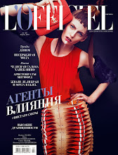 The Hat Of My Atelier In L'Officiel Ukraine, April 2015 Issue