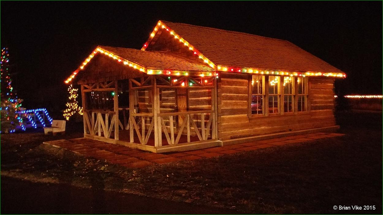 Northern Interior British Columbia: Christmas Lights In Steelhead ...