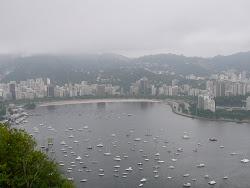 Private Boat Harbor from SugarLoaf Mountain, Rio de Janeiro