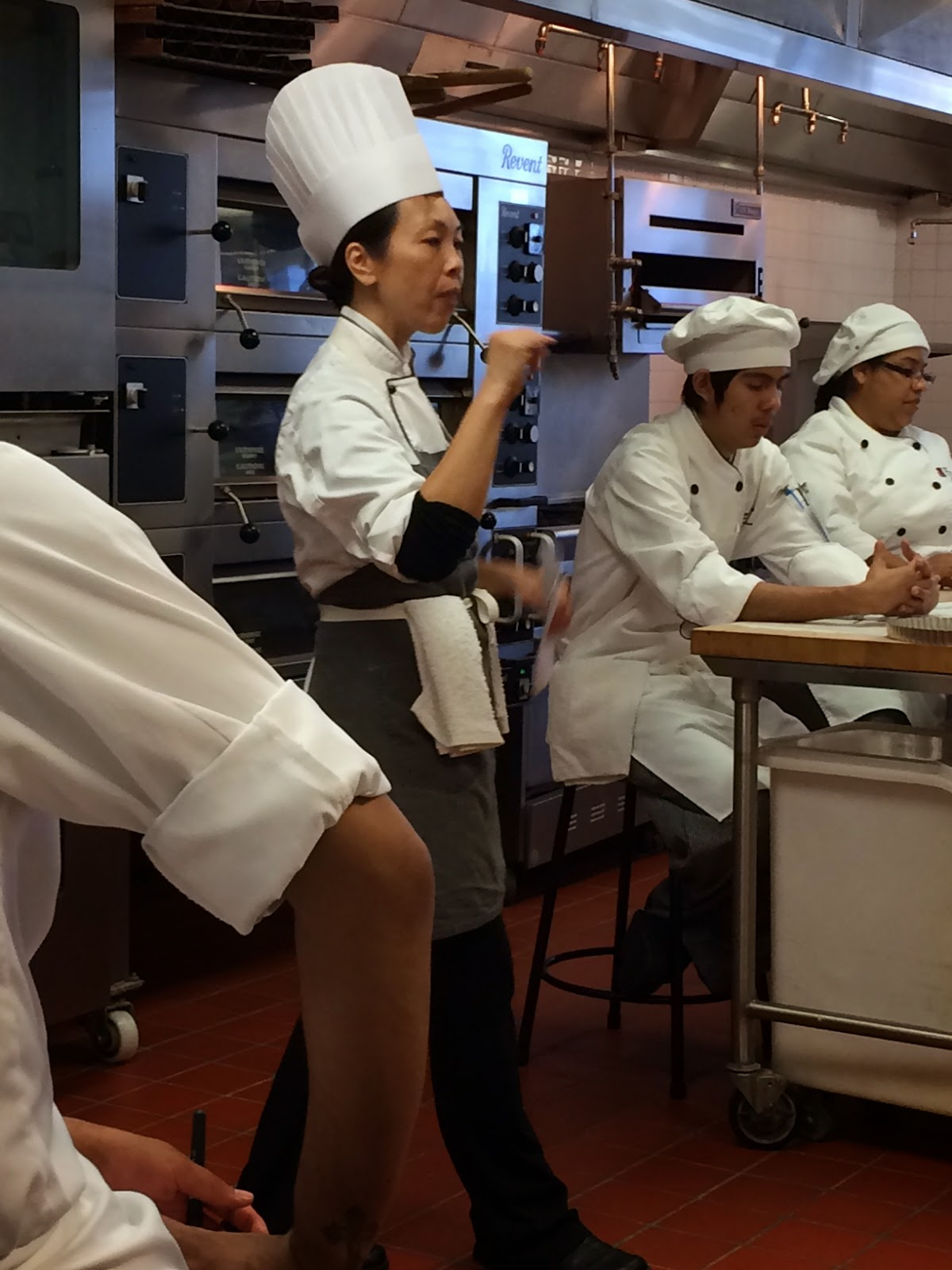 Chocolate Cream Pie With Tough Culinary Love On The Side From Pastry Chef Instructor Tina Luu