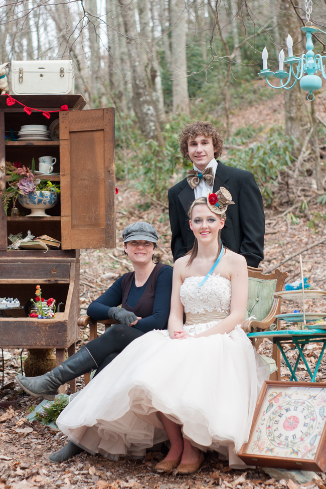 Alice in Wonderland Wedding Inspiration | by Wayfaring Wanderer Boone, NC Photographer
