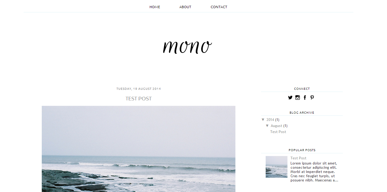 A free blogger template oh zoe bloglovin for Free blogger templates