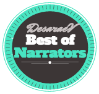 Favorite Narrators Best of Books Award by DesaraeV