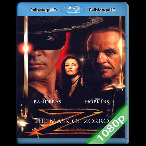 La Máscara del Zorro (1998) 1080P HD MKV ESPAÑOL LATINO
