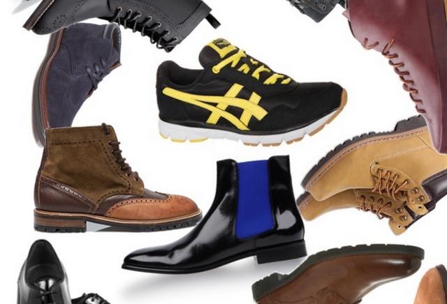 Rayas y cuadros blog de moda masculina shopping time collage de zapatos - Zapatos collage ...