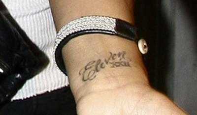 Carmen Electra's Tattoos