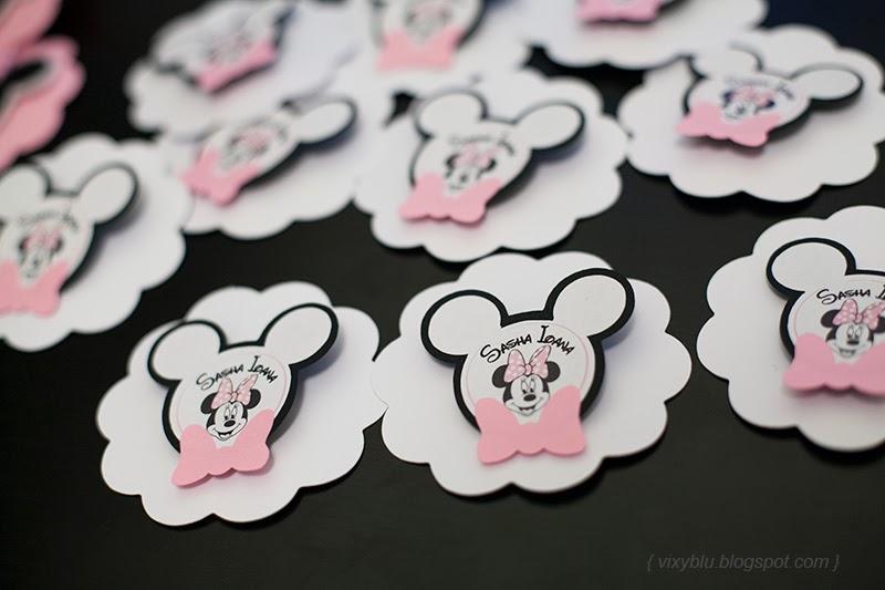 insigne Minnie, Minnie Mouse roz