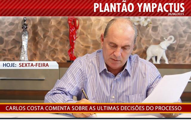 Ainda hoje 26/06/2015, Plantão Ympactus.