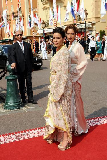 photos de lalla soukana la plus lgante au mariage dalbert de monaco - Mariage Lalla Soukaina