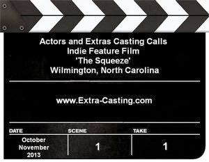 The Squeeze casting calls for actors and extras in Wilmington