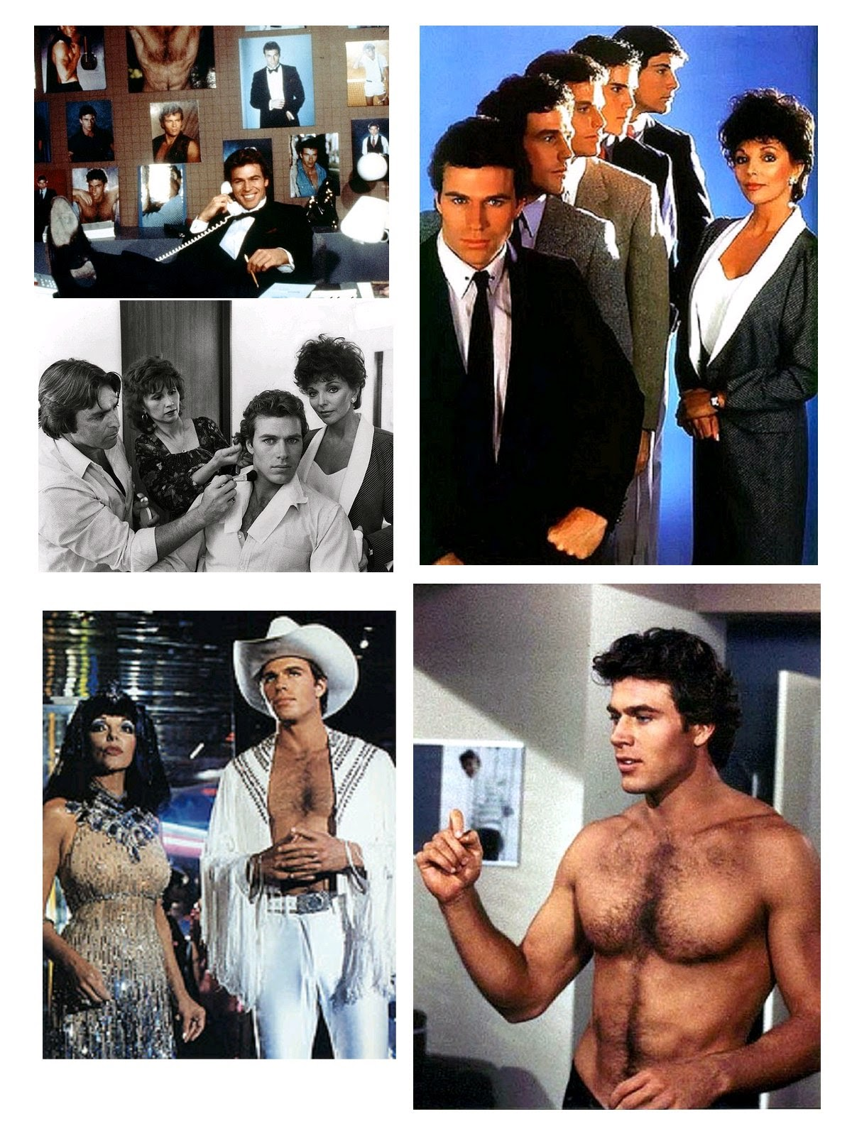 Making of A Male Model (1983) Joan Collins, Jon-Erik Hexum